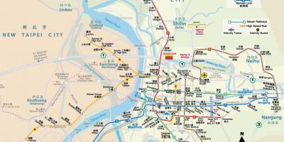 kart taiwan Taiwan kart   Kart Taiwan (Øst Asia   Asia) kart taiwan